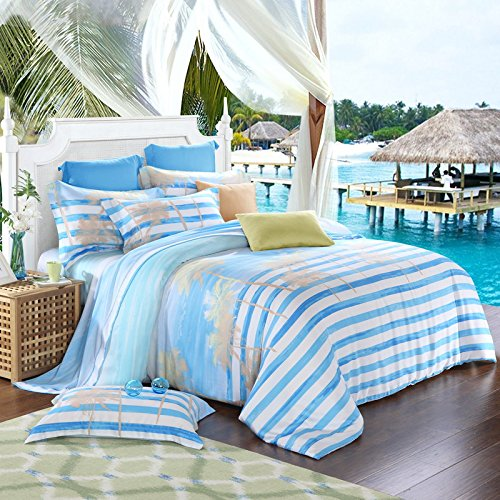 61ZU8d8pMXL The Best Palm Tree Comforter and Bedding Sets