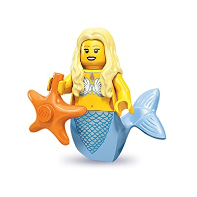 LEGO 71000 Minifigures Series 9 - Mermaid x1 Loose: Toys & Games