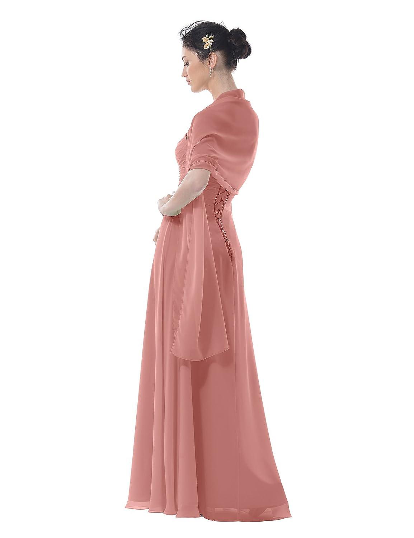 Topwedding Chiffon Bridal Wedding Shawl Wrap Women\'s Evening Dress ...
