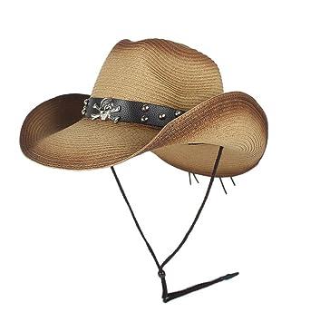 HHF Caps y Sombreos Hombres Mujeres Sombrero de paja de ...