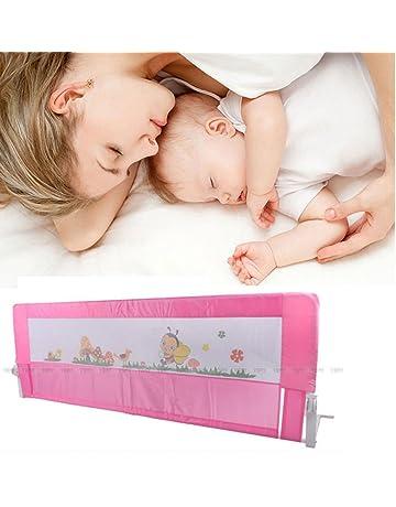 150cm/180cm Barandilla de La Cama Guardia de Seguridad para Niños, Barandilla Plegable de