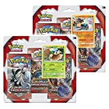 Pokemon TCG: BOTH Sun and Moon Crimson Invasion 3 Pack Boosters - Lucario & Decidueye