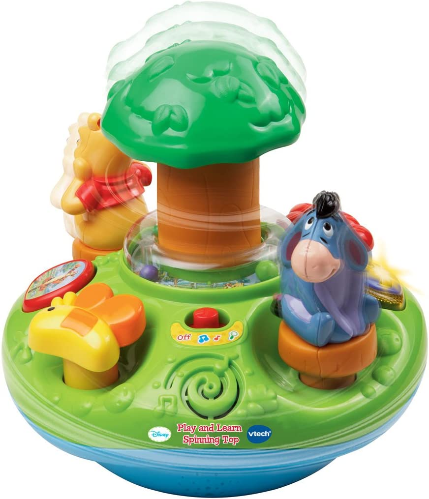 VTech Baby Winnie the Pooh Play and Learn Spinning Top: Amazon.es ...