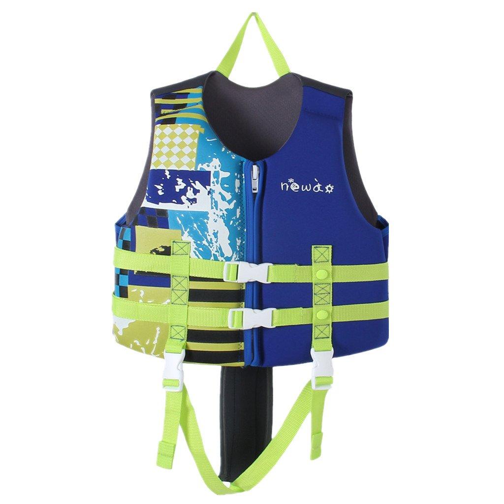 Hony Bambino Costume da Bagno Muta Bambini Giacca - Ragazzi Ragazze Aiuti al Nuoto Regolabile Imparare a Nuotare Piscina Immersione Spiaggia Fare Sicurezza Rosa Blu Arancia