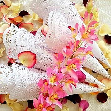 Amazon wedding petal cones cones for petals paper wedding wedding petal cones cones for petals paper wedding flower petal cones paper cones mightylinksfo