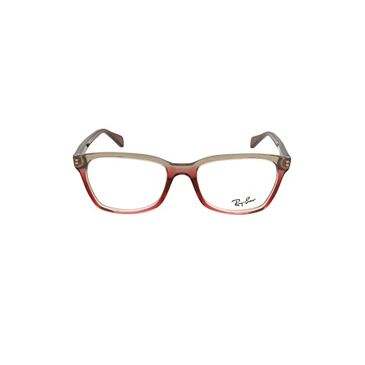 7303514ec38 Image Unavailable. Image not available for. Color  Ray-Ban RX5362-5835  Eyeglasses TRI BORDEAUX GREY PINK 52mm