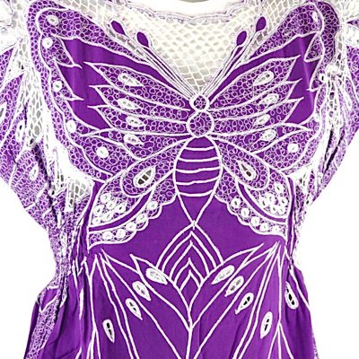 Sugarhill Boutique Kleid BUTTERFLY DRESS purple XS