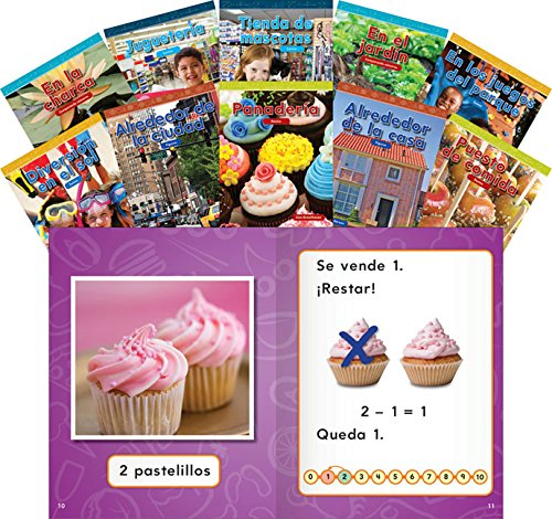 Common Core Mathematics Kindergarten 10-Book Spanish Set (Common Core Math) (Teacher Created Materials Library) por Teacher Created Materials