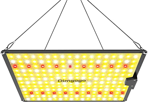 Dimgogo GO-1000 LED Grow Light Full Spectrum Plant Growing Lamps Sunlike with LM301B Diodes MeanWell Driver for Indoor Veg and Flower Growing Lamp