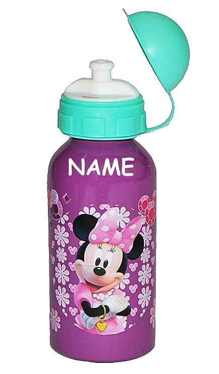 Trinkflasche Disney Minnie Maus Aluminium Alu 500ml