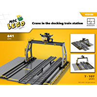 Train Docking Station (Instruction Only): MOC LEGO (English Edition)