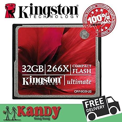 ARBUYSHOP Kingston 266x tarjeta compact flash tarjetas de ...