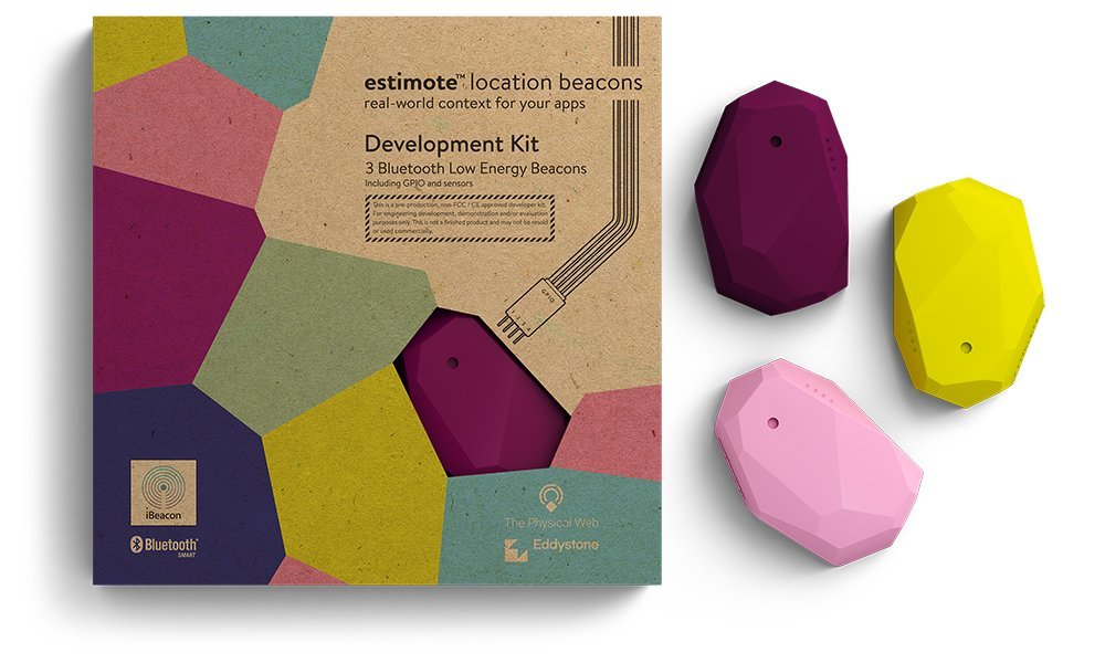 Amazon com: Estimote Location Beacons Developer Kit