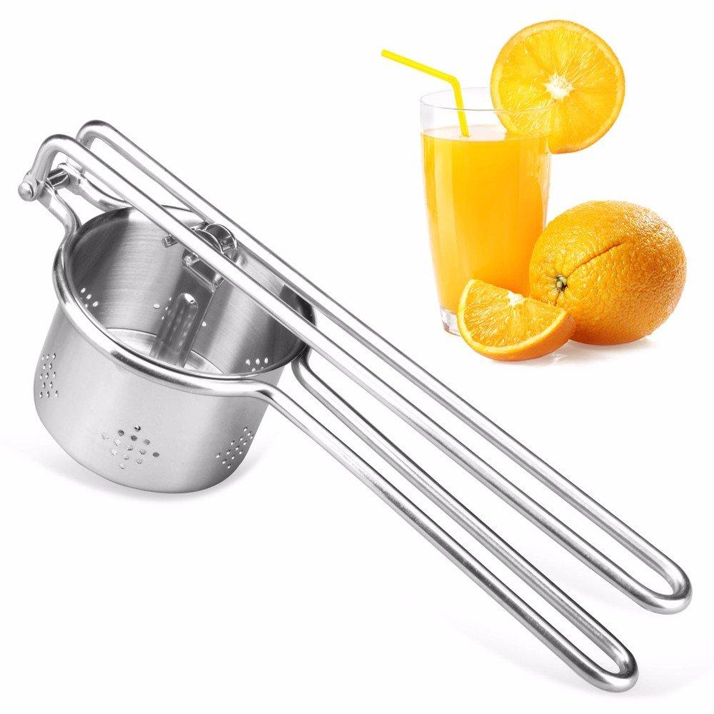 Compra Acero inoxidable exprimidor, licuadora, zumo de naranja ...