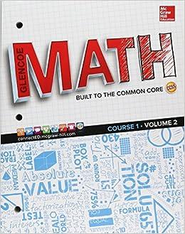 Buy Glencoe Math, Course 1, Student Edition, Volume 2 (MATH APPLIC