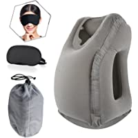STWIE Inflatable Travel Pillow, Airplane Pillow, Travel Pillow. Ergonomic and Portable Head Neck Rest Pillow, Airplane…