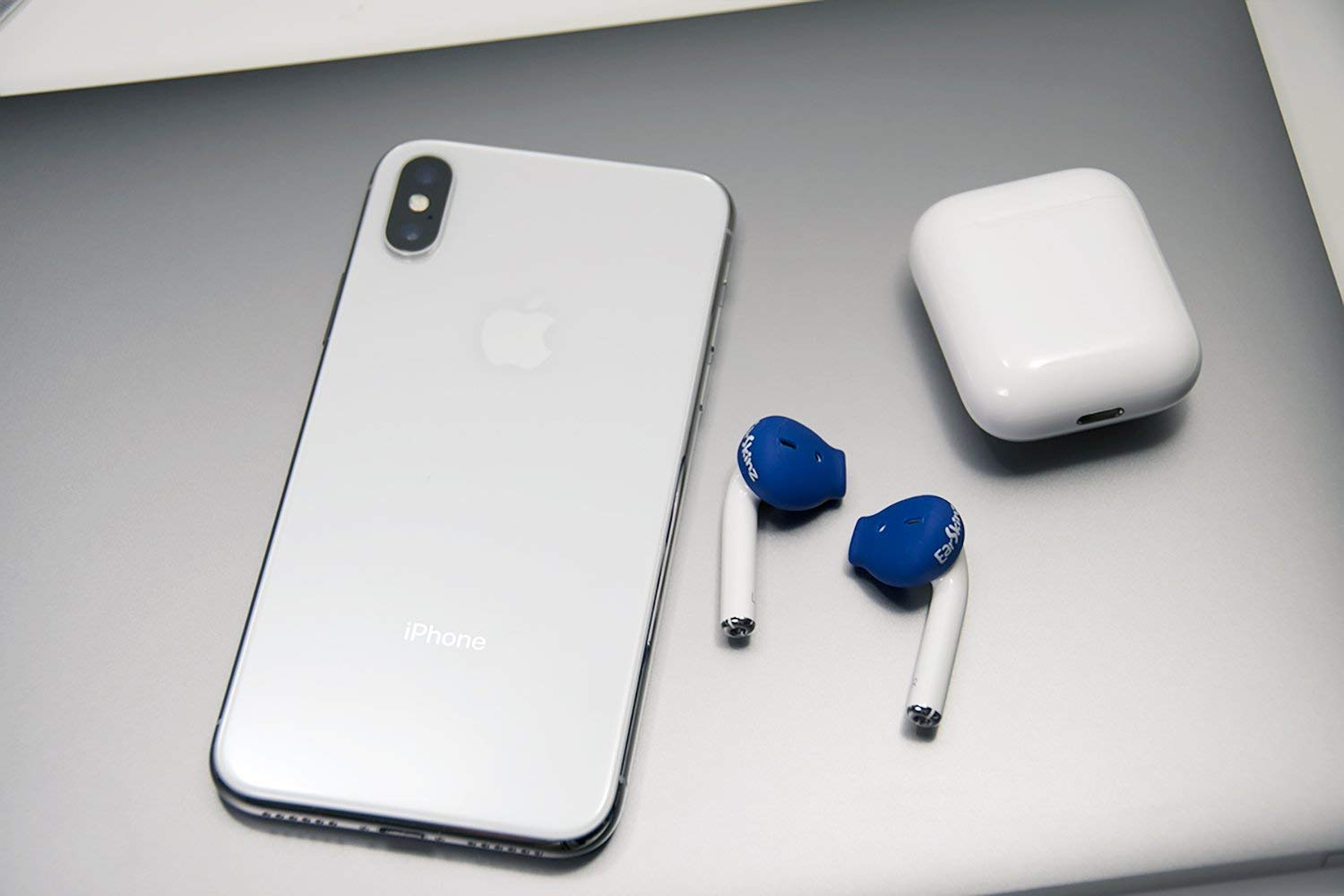 1 /& 2 for Apple AirPods ES3 - Smoke EarSkinz AirPod Covers