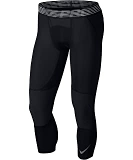 details for official website for discount Amazon.com: Nike Men's Pro 3/4 Basketball Tights: Clothing