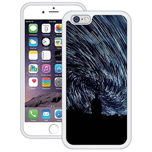 Sternenhimmel-Bewegung | Handgefertigt | iPhone 6 6s (4,7') | Weiß Hülle