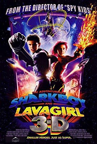 The Adventures of Shark Boy & Lava Sweetheart in 3-D Poster 27x40 David Arquette Cayden Boyd