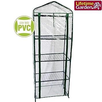 Terrasse 4 étages avec bâche PVC imperméable anti UV Serre ...