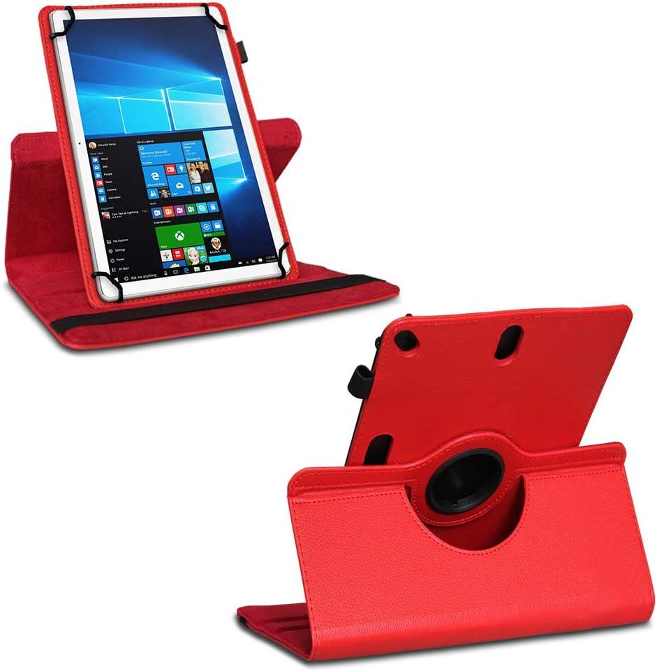 na-commerce Robuste Universal f/ür Acer Iconia One 10 B3-A30 Tablet Schutzh/ülle aus hochwertigem Kunstleder H/ülle Tasche Standfunktion 360/° Drehbar Farbauswahl Farben:T/ürkis
