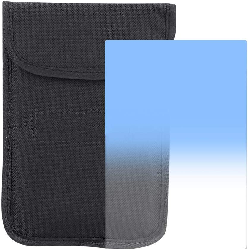 Blue with Storage Pouch Square Filter Neutral Density Square Filter Z System Gradual Lens Filter 100150mm
