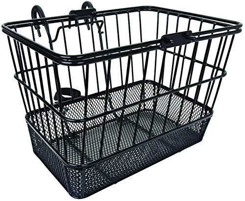 Altair Wire Lift Off Heavy Duty Mesh Basket, Black