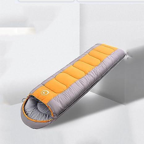 PJKNAM Primavera Caliente, Verano Y Otoño Engrosamiento Saco De Dormir Acampar Al Aire Libre Saco