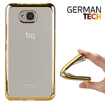 German Tech Funda Gel para Bq Aquaris U2: Amazon.es: Electrónica