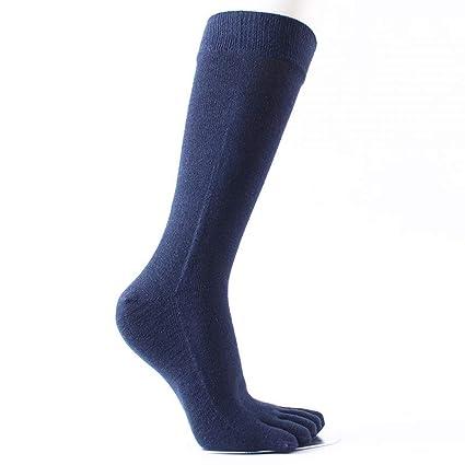 HOMES1 Five Fingers Socks Long 5 Pairs/lot Combed Cotton Compression Sock 5 Finger Socks