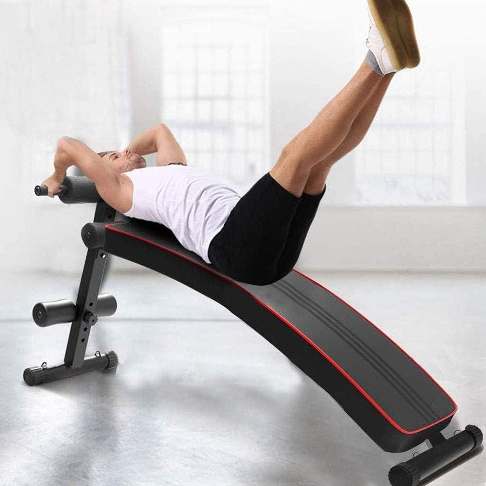 Leg Lifts und Bizeps Curls CTEGOOD Sit Up Bank Bauchtrainer Klappbar Verstellbare Bauchbank Bis Zur 250kg Belastbar Ideal f/ür Sit-Ups