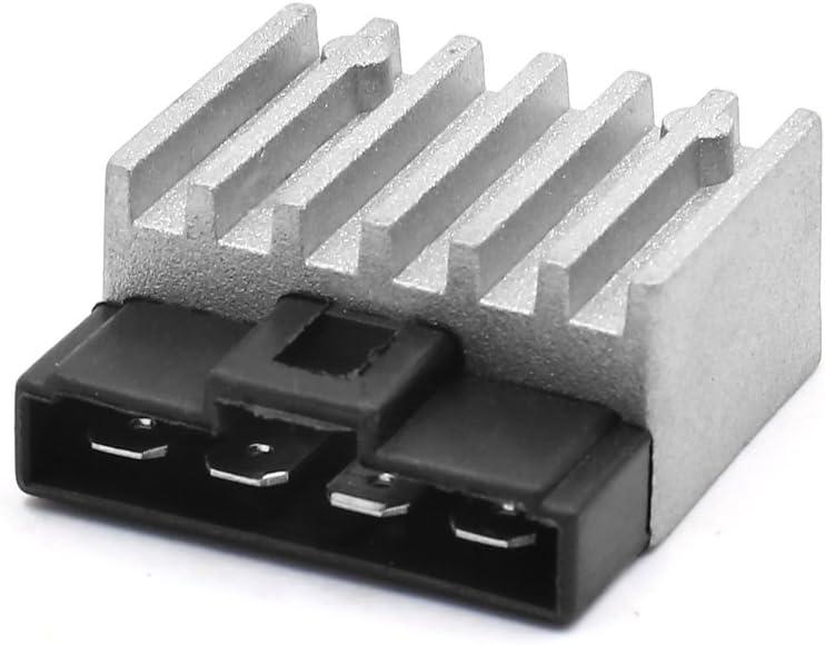 Sourcingmap 50311034000 Regulador Rectificador de Voltaje Moto K-T//M 125 200 250