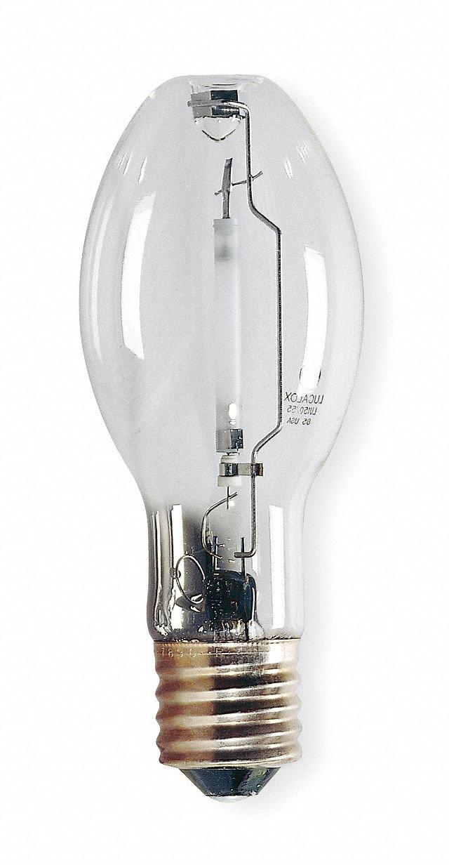 GE Ecolux Lucalox LU100/H/ECO Elliptical HID High Pressure Sodium Lamp, 100 W, High Pressure Sodium Lamp