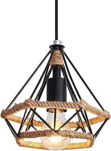 Pendant Light Vintage Style,Hanging lamp Black Light Hallway Industrial Lighting Fixtures Chandeliers for Dining Rooms Bedroom Kitchen Island Entryway