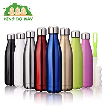 King Do Way - Botella termo de acero inoxidable (500 ml ...