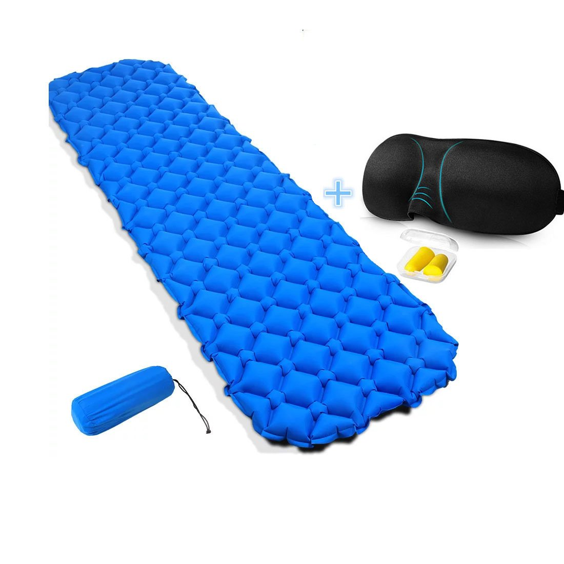 Ultralight Foam Camping Mat Folding Beach Tent Sleeping Pad Waterproof Mattre YH