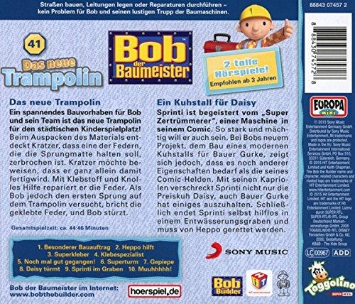 41das Neue Trampolin By Bob Der Baumeister Amazoncouk Music