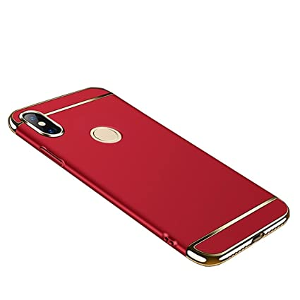 new concept a6b3e 93808 Mobiclonics® 3IN1 Back Cover for Xiaomi Redmi Mi Y2- (Red)