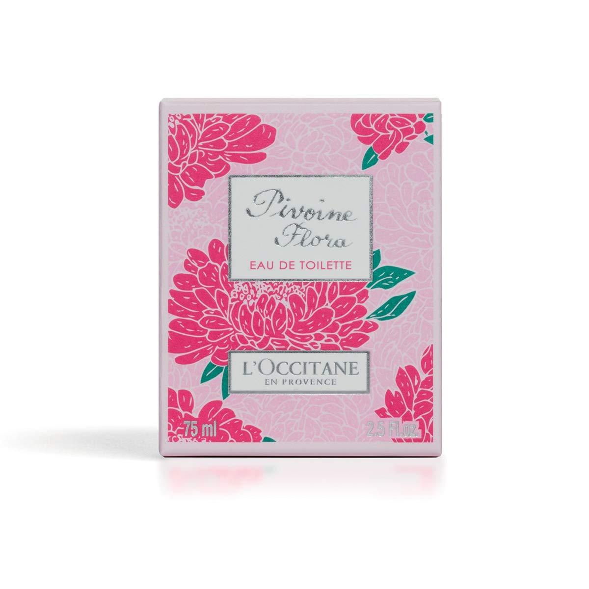 L Occitane Soft Captivating Pivoine Flora Eau de Toilette with Peony Extract, 2.5 fl. oz.