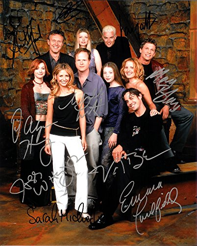 Buffy The Vampire Slayer Cast Of 10 Autograph Signed 8 x 10 Photo