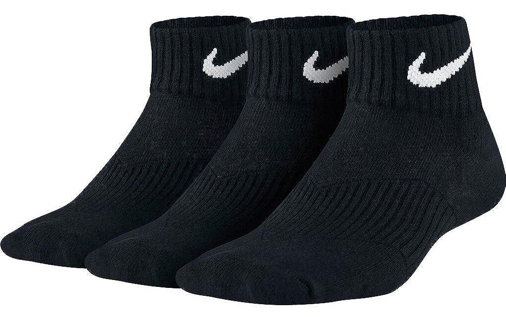 hommes / femmes nike rendement trimestre de grands coussins trimestre rendement (3 paires de chaussettes de fin d'année des promotions spéciales très à l'aise et vr9059 naturelles 13eb87