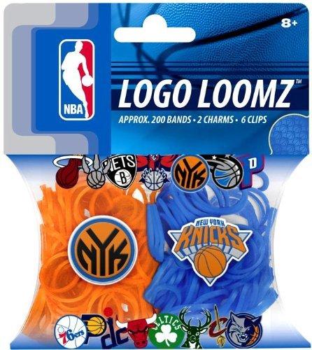 Forever Collectibles New York Knicks Logo NBA Loom Bandz Filler Pack