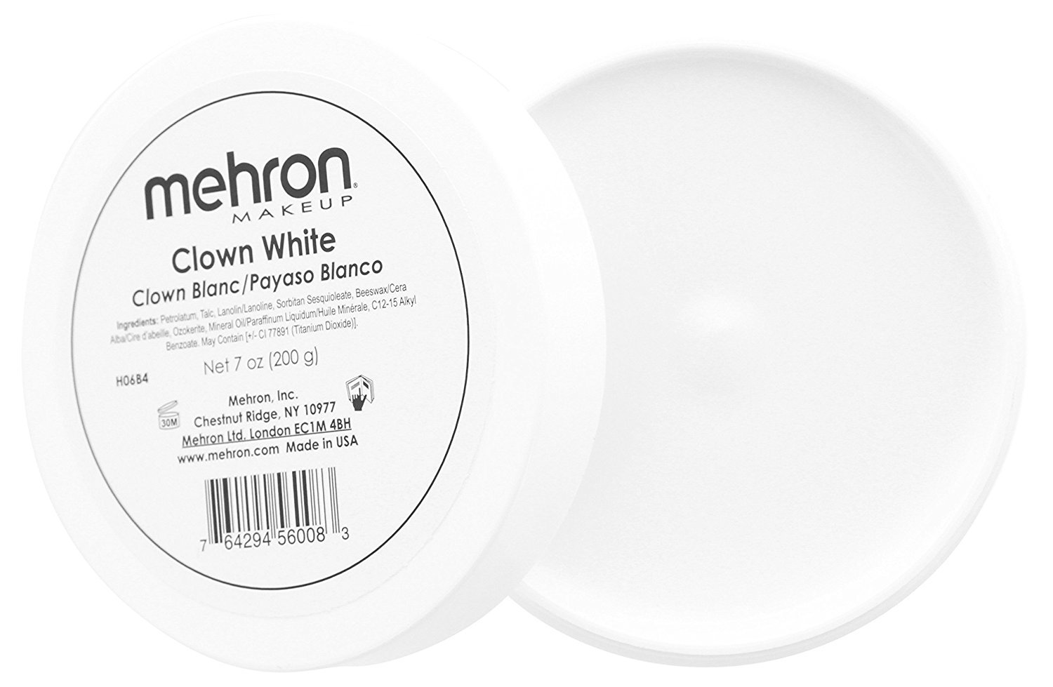 Clown White, 8 Oz