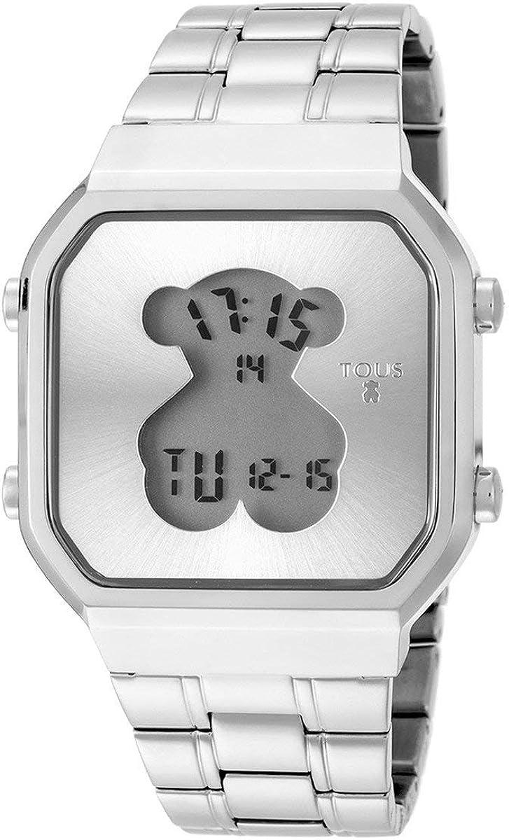 TOUS Reloj D-Bear SQ de aceros