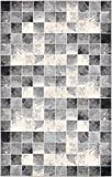 Unique Loom Wildlife Collection Checkered Geometric Light Gray Area Rug (5′ x 8′) Review