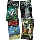 Neil Gaiman 4 Books Collection Set ( Neverwhere, Stardust, Anansi Boys, American Gods )