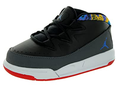Jordan Boys Deluxe Toddlers Style Black/Soar/Dark Grey/White 4