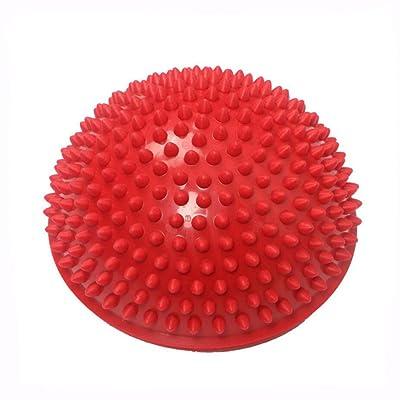 YYF Balle Gymnastique Coussin de fitness sans pompe équilibre gonflable pour fitness, yoga, coordination et entraînement du dos