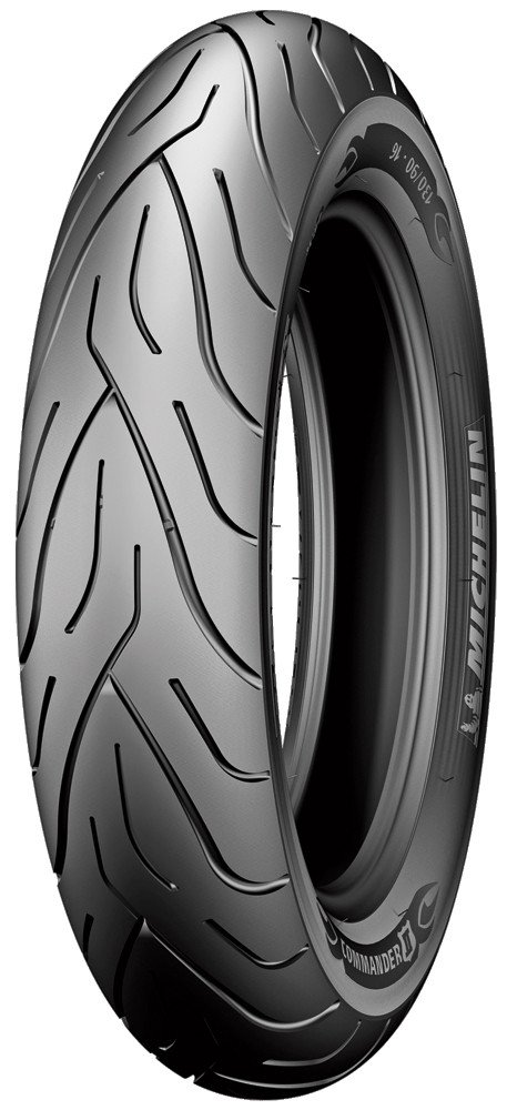Michelin 05505 Commander II Front Tire - 130/60B-19, Position: Front, Rim Size: 19, Tire Application: Cruiser, Tire Size: 130/60-19, Tire Type: Street, Load Rating: 61, Speed Rating: H, Tire Construct